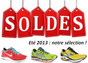 Soldes running été 2013 : notre sélection
