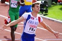 Photo de Nouveau record de France sur 100m pour Christophe Lemaître