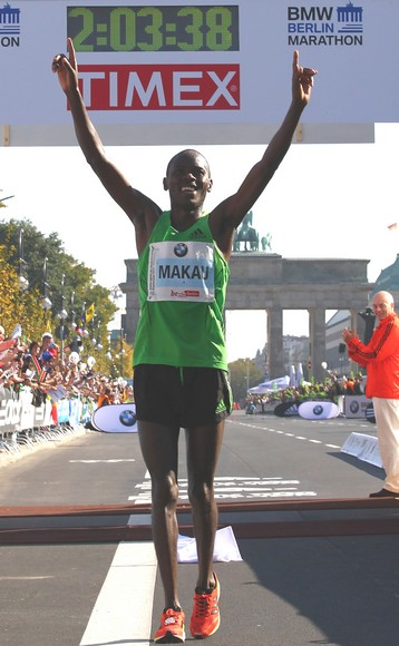 Photo de 2h03:38 : nouveau record du Monde du marathon (Berlin 2011)