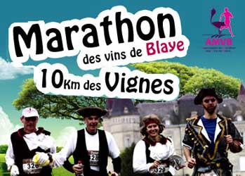 Marathon et 10 km des vins de Blaye