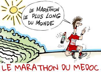 Marathon du Médoc, à Pauillac