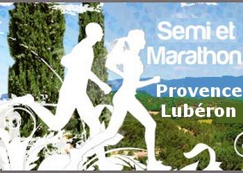 Semi et marathon de Provence Lubéron, à Pertuis
