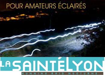 La SaintéLyon, trail nocturne de 70 km entre St-Etienne et Lyon