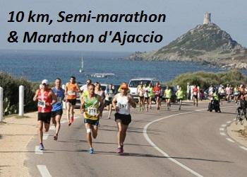 10 Km, Semi-marathon et Marathon d'Ajaccio