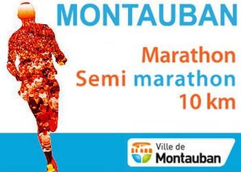10 km, semi-marathon et marathon de Montauban