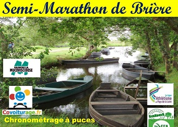 Semi-marathon de Brière, en Loire Atlantique