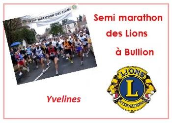 Semi-marathon des lions de Bullion