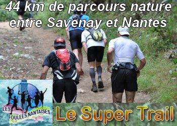 Le Super Trail Nantais, entre Savenay et Nantes