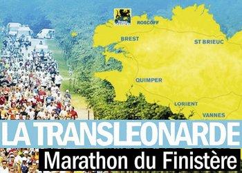 Transléonarde marathon du Finistère