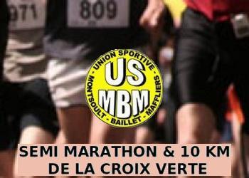 Semi-Marathon  et 10 km de la Croix Verte