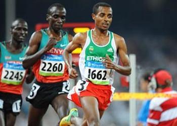Kenyans et Ethiopiens dominent la course à pied