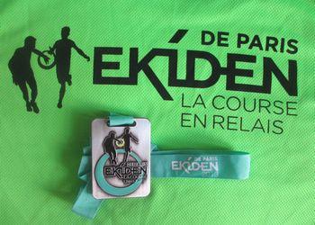 Résultats et classement de l'Ekiden de Paris 2013