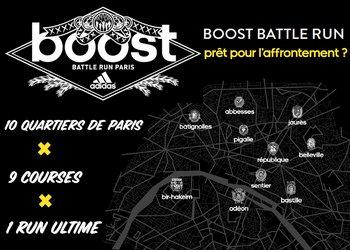 Courez pour votre quartier avec l'Adidas Boost Battle Run