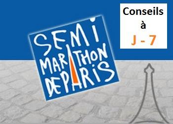 J-7 avant le semi-marathon de Paris : derniers conseils
