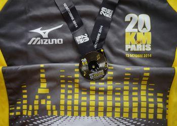 Photo de Résultats et classement des 20 km de Paris 2014