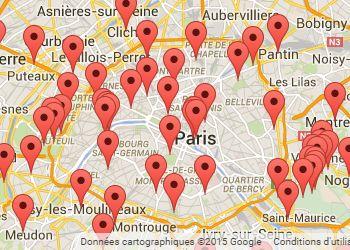 Courir à Paris : carte des courses à pied