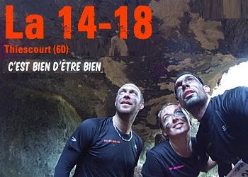 La 14-18, trail et course à obstacles, Thiescourt (Oise)