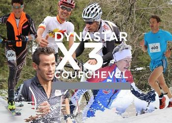 Triathlon Montagne -  Dynastar X3 Courchevel