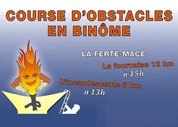 L'Incendiaire, course à obstacles La Ferté Macé (Orne)