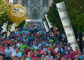 Run in Reims : 10km, semi et marathon