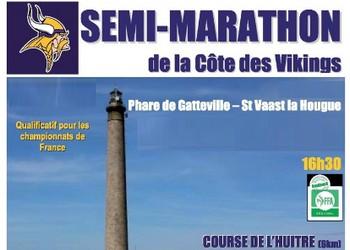 Semi-marathon de la côte des Vikings (Manche)