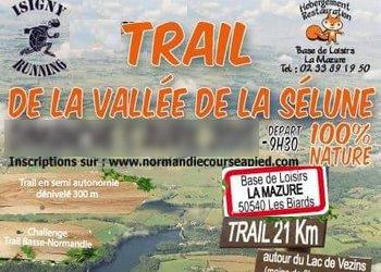 Trail de la vallée de la Sélune