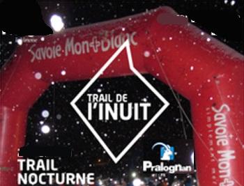 Trail blanc nocturne de l'inuit, à Pralognan la Vanoise
