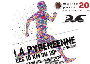 Pyrénéenne 10 km du 20ème Paris