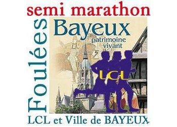 Foulées de Bayeux, semi-marathon et 10 km (Calvados)
