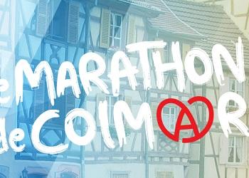 Semi-marathon et marathon de Colmar (Haut Rhin)
