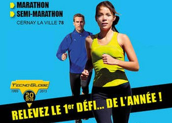 Semi et marathon de Cernay la Ville (Yvelines)