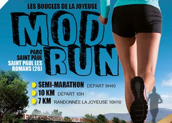 Photo de Mod Run, Marathon de la Drôme 2021, Saint Paul les Romans
