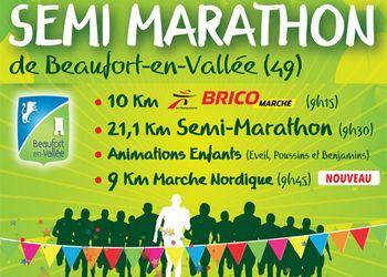 Semi-marathon et Foulées de Beaufort en Vallée