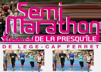 Photo de Semi-marathon de Lège Cap Ferret 2021 (Gironde)