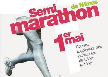 Semi-marathon de Nîmes, 10 km et 5 km