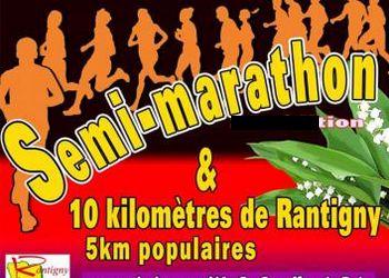 10km et semi-marathon de Rantigny