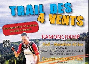 Trail des 4 vents, Ramonchamp (Vosges)