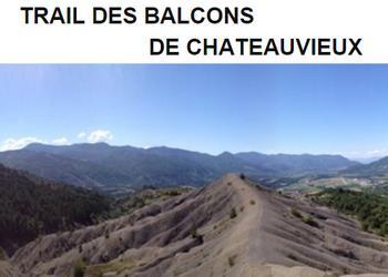 Trail des balcons de Châteauvieux