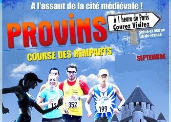 Course des remparts de Provins (Seine et Marne)