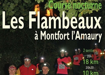 Trail nocturne des flambeaux