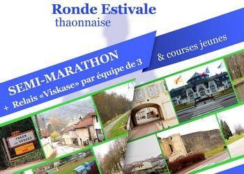 Ronde estivale, semi-marathon à Thaon les Vosges
