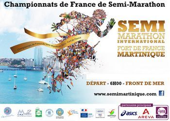 Semi-marathon international de Fort de France (Martinique)