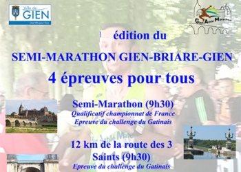 Semi-marathon Gien - Briare - Gien
