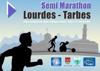 Semi-marathon Lourdes Tarbes (Hautes Pyrénées)