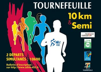 10 km et semi-marathon de Tournefeuille (Haute Garonne)