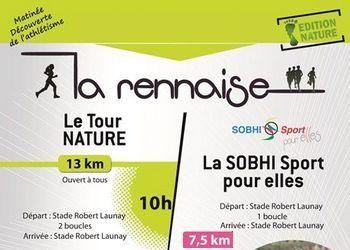 La Rennaise, trails à Rennes (Ille et Vilaine)