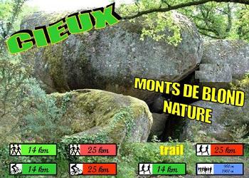 Trail des Monts de Blond nature, à Cieux (Haute Vienne)