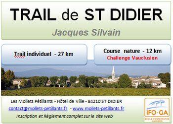 Trail de Saint-Didier