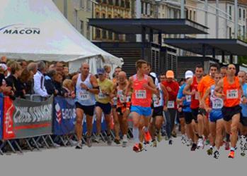 Semi-marathon de Mâcon et 10 km