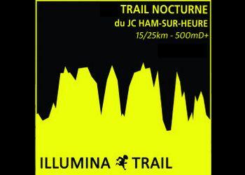 Illumina'Trail, trail des illuminés, Ham sur Heure